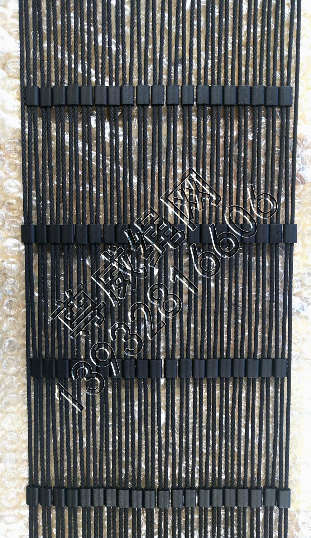 尊威黑色氧化不锈钢绳网